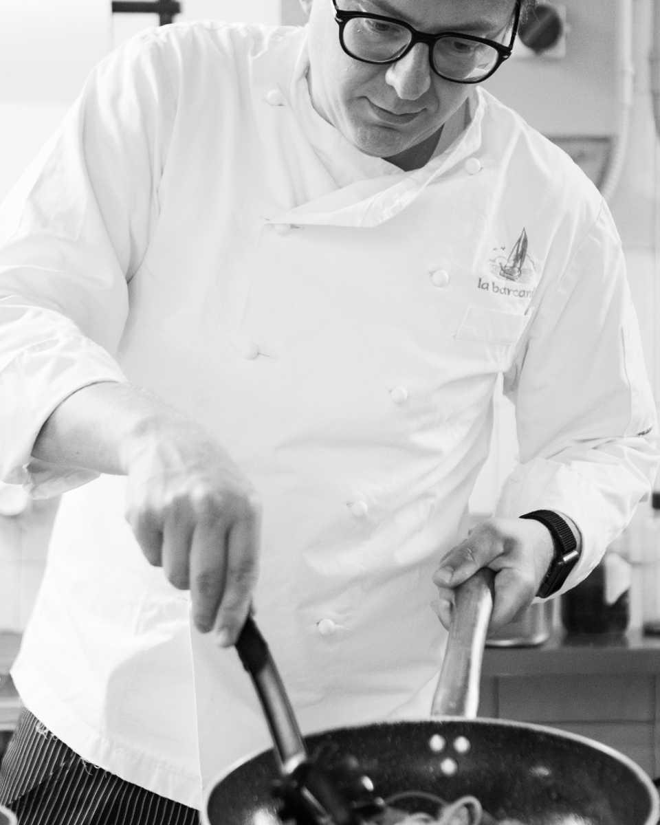 Ristorante La Barcarola Livorno_cuoco Carlo Mancini