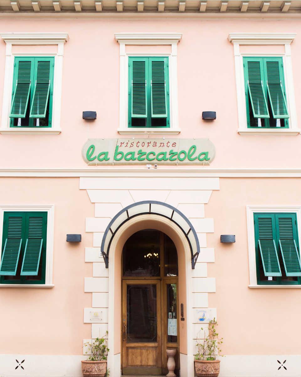 Ristorante La Barcarola Livorno_viale Carducci 39